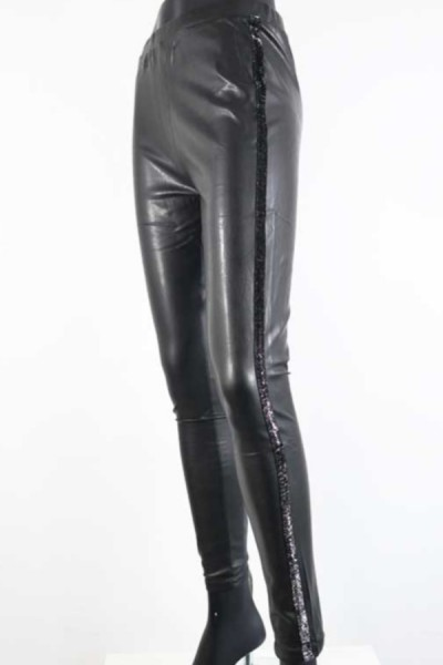 Legging Shine Zwart