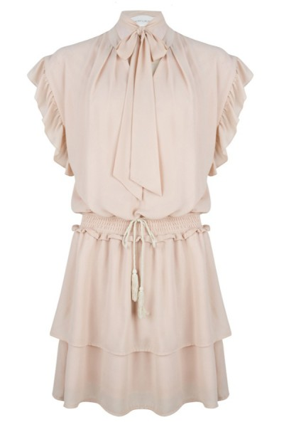 Jacky Luxury Jurk Strik beige