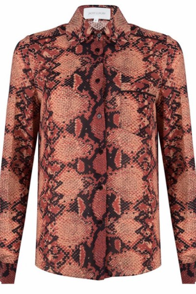 Jacky Luxury Blouse Slangenprint