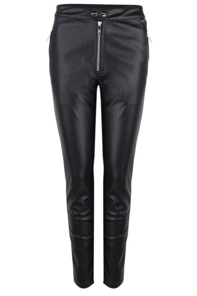 Jacky Luxury Broek Lederlook