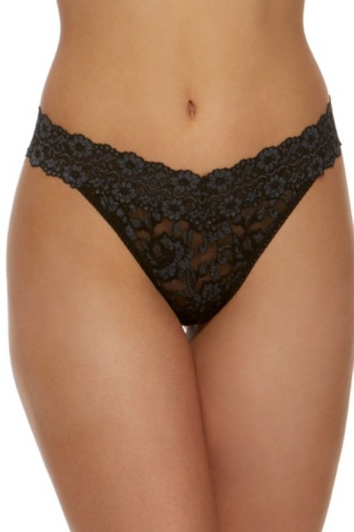 Hanky Panky original String Cross Dyed Black Heath