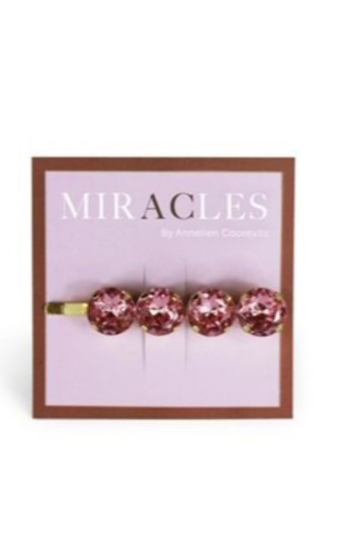Miracles Hair Clip Firenze Pink