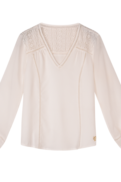 Miracles Blouse Macha White