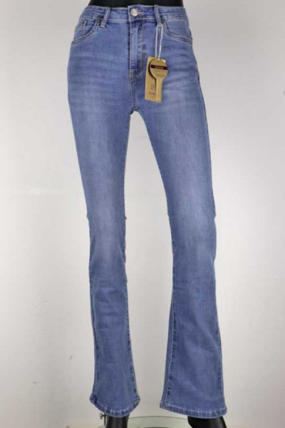 Jeans North Flair Medium Blauw
