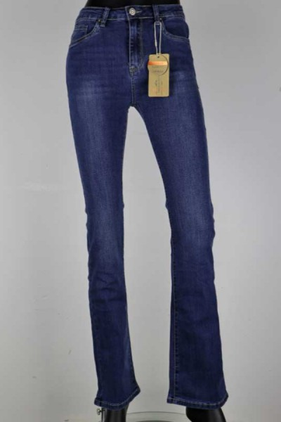 Jeans North Flair Blauw