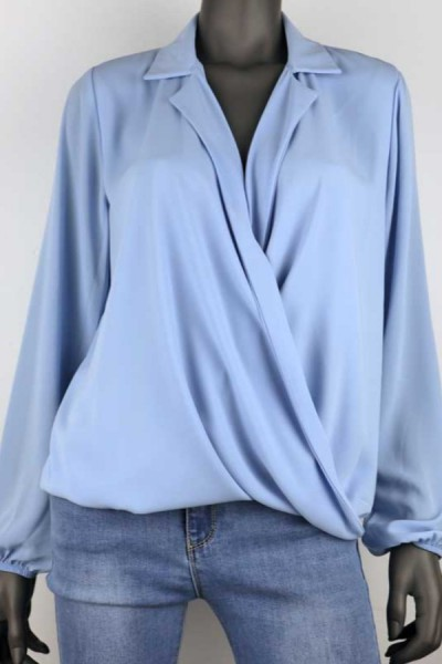 Blouse May Blauw