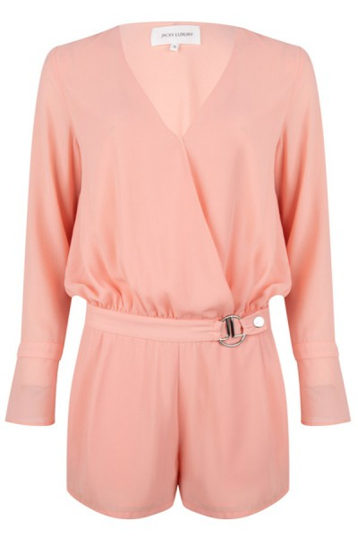 Jacky Luxury Playsuit Peach