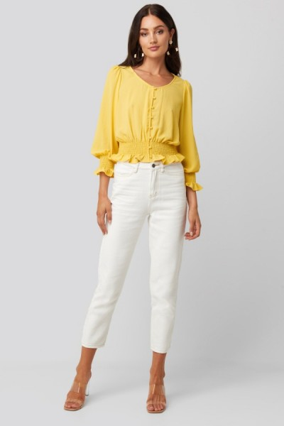 Freya Blouse Yellow