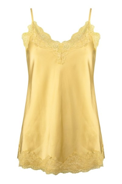 Jacky Luxury Topje Satin Soft Yellow