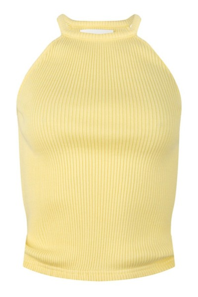 Jacky Luxury Top Rib Yellow