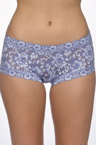 Hanky Panky Boyshort Cross Dyed Chambray Ivory