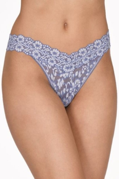 Hanky Panky String Cross Dyed Chambray Ivory