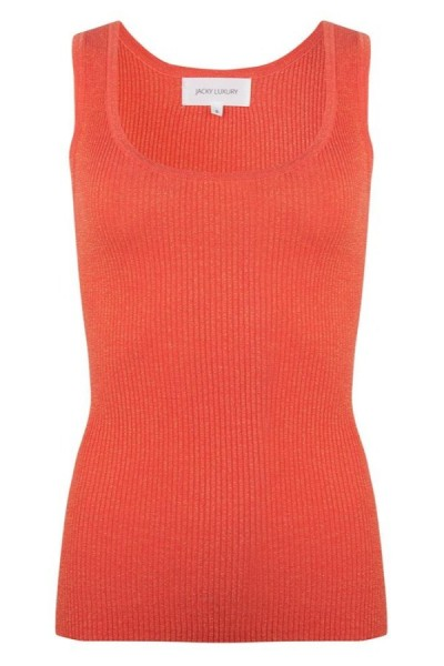 Jacky Luxury Top Knit Coral