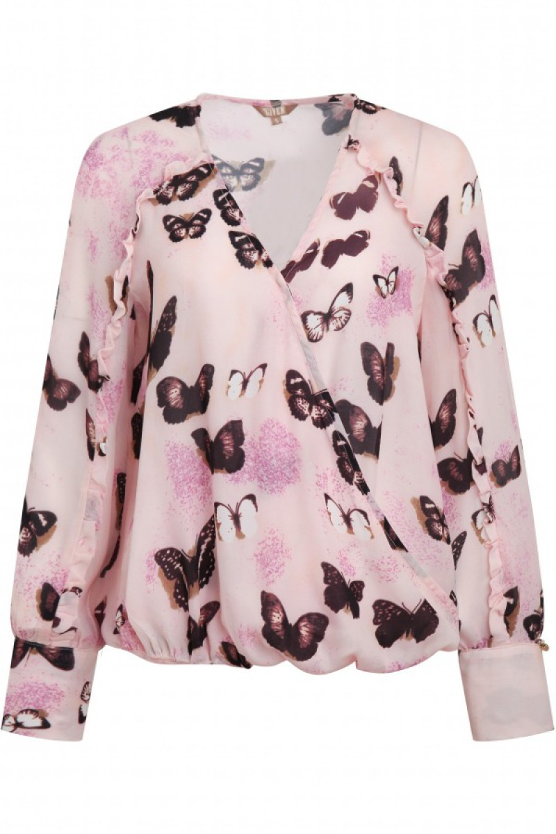 Given Butterfly Blouse